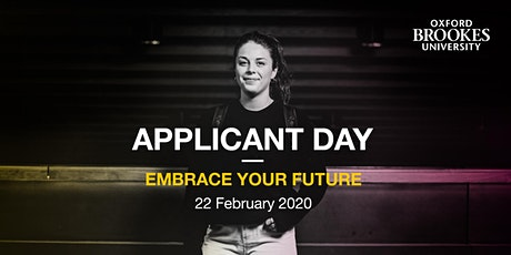 Oxford Brookes Applicant Day - Oxford - 22 February 2020 tickets