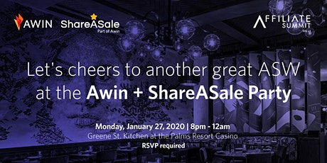 Awin + ShareASale Party at ASW 2020 tickets