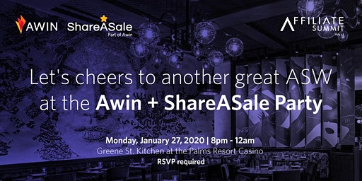 Awin + ShareASale Party at ASW 2020