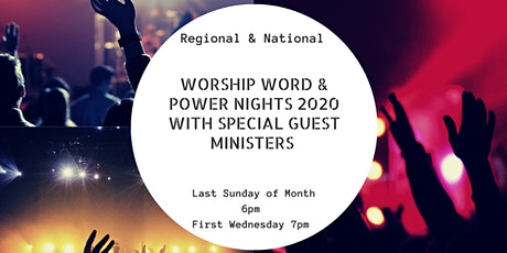 Wednesday NIGHT Worship, Word & Wonders - Monthly Leaders, Team ,  everyone tickets