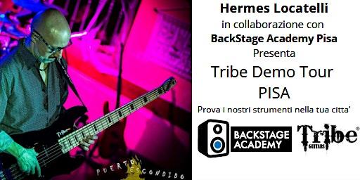 Tribe Demo Tour Pisa: Prova i bassi Tribe nella tua citta'!