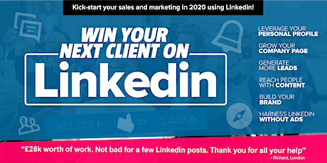 Win your next client on LinkedIn NEWCASTLE Grow your business on LinkedIn tickets