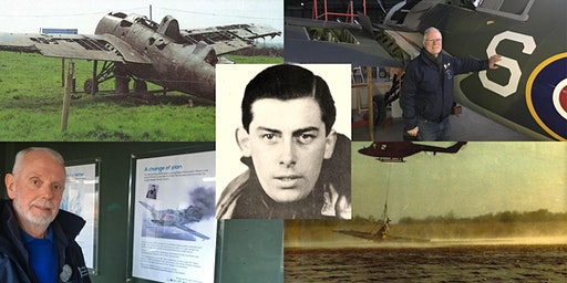 Portmore Lough, Peter Lock and the WW2 Wildcat