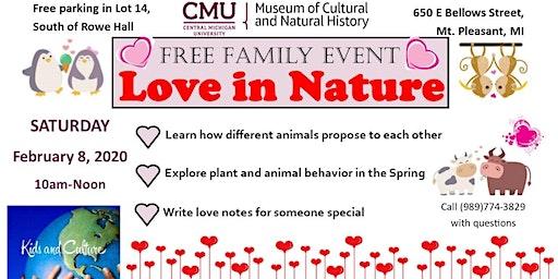 Kids & Culture: Love in Nature