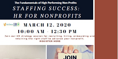 Staffing Success:  HR For Non-Profits