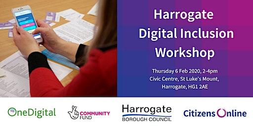 Harrogate District Digital Inclusion Workshop