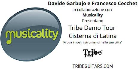 Tribe Demo Tour a Cisterna di Latina: Prova i bassi Tribe nella tua citta'! biglietti