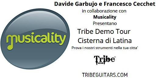 Tribe Demo Tour a Cisterna di Latina: Prova i bassi Tribe nella tua citta'!