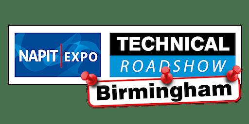 NAPIT EXPO Technical Roadshow - BIRMINGHAM