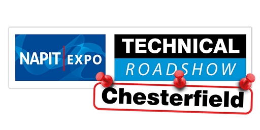 NAPIT EXPO Technical Roadshow - CHESTERFIELD