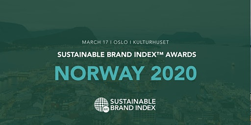 Sustainable Brand Index Awards 2020 - Norway