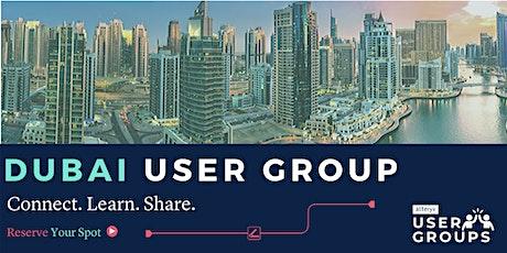 Dubai Alteryx User Group Q1 2020  tickets