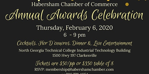 Habersham Chamber Annual Awards Celebration