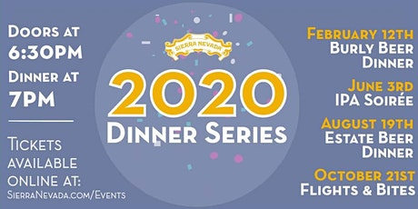 Sierra Nevada Mills River 2020 Beer Dinner Series: Flights & Bites tickets