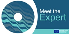 """Meet the Expert"" Business Support Programme logo"