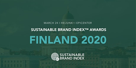 Sustainable Brand Index Awards 2020 - Finland tickets