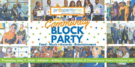 ProsperityME's 12th Annual Community Block Party tickets