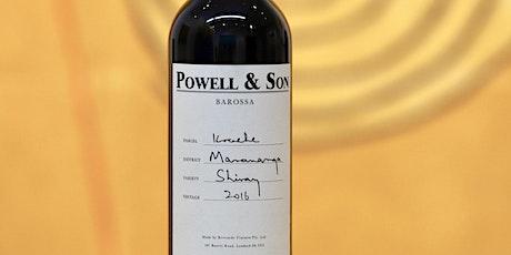 Powell & Son stellar Australian Wine Tasting at Wine By The Bay tickets