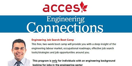 Engineering Job Search Boot Camp tickets