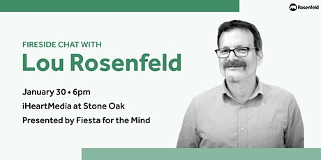 Fireside Chat with Lou Rosenfeld tickets