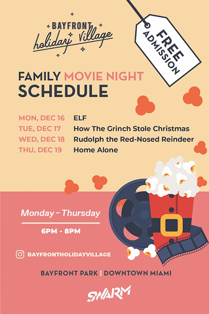 Family Movie Nights at Bayfront Holiday Village image