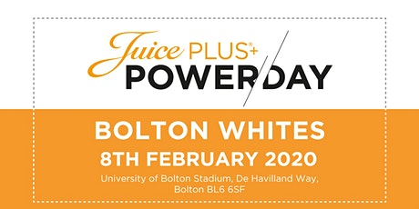 Juice Plus+ Power Day Bolton 2020 tickets