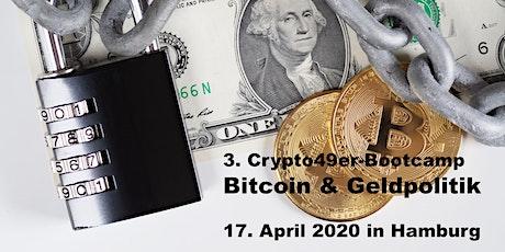 Crypto49ers-Bootcamp - Bitcoin & Geldpolitik in Hamburg Tickets