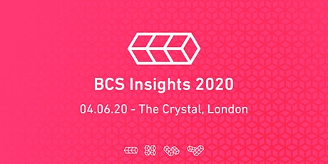 BCS Insights 2020 tickets