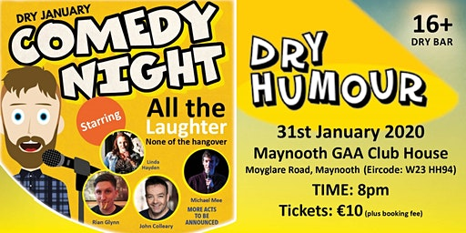 Dry Humour Comedy Night Maynooth