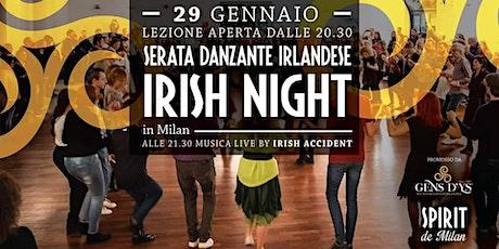 Milano - Irish Night allo Spirit biglietti