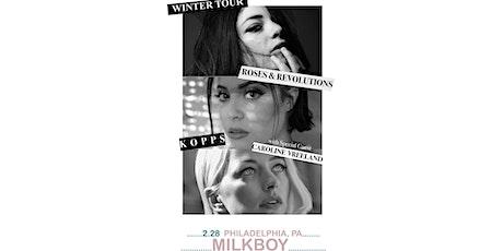 Roses & Revolutions + KOPPS tickets