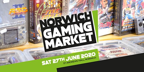 Norwich Gaming Market - 27 June 2020 tickets