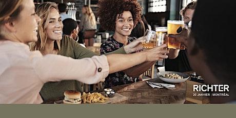 Venez nous rencontrer! Bière et burgers chez Richter tickets