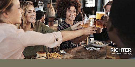 Join us! Beer & Burgers @ Richter