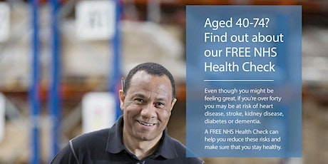 NHS Health Check - Free tickets