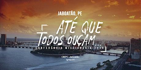 Conferência Missionária - JUMEBRAC - PE ingressos