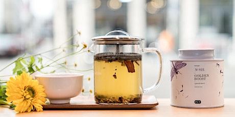 P & T Tea Tasting - Revitalizing Teas Tickets