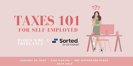 Taxes 101 for Self-Employed: WWF x Sorted tickets