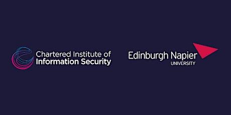 CIISec & Edinburgh Napier - Student Cyber Career Development Event tickets
