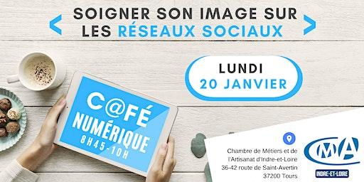 Café Numérique : Soigner son image sur les réseaux sociaux !