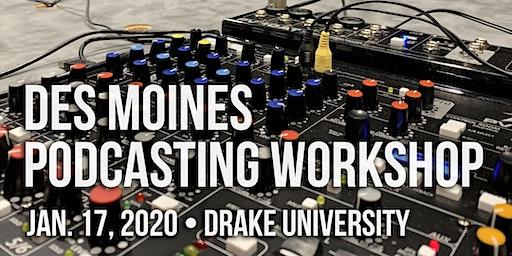 Des Moines Podcasting Workshop