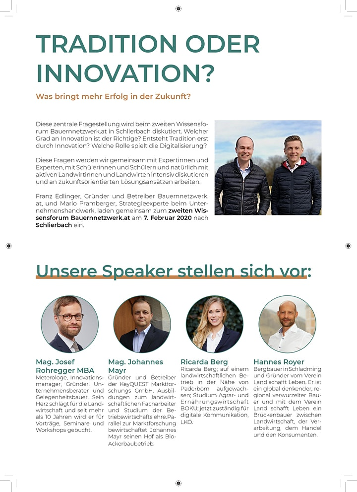 Wissensforum Bauernnetzwerk.at 2020: Bild
