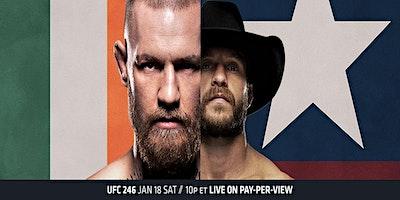 UFC 246 McGregor vs Cerrone viewing party!