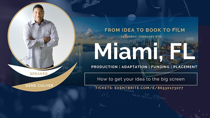 Miami's Book To Film Conference image