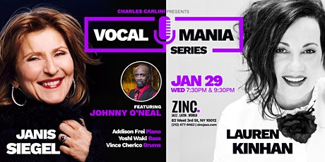Vocal Mania Series: Janis Siegel & Lauren Kinhan ft. Johnny O'Neal tickets