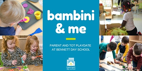 Bambini & Me (Parent and Tot Playdate) Winter Session tickets