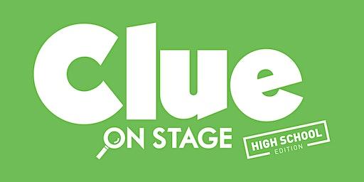 Clue on Stage - Jasper High School