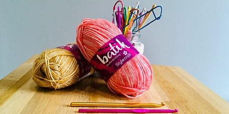 Beginners Crochet - 1 day intensive workshop (ideal for beginners!) tickets