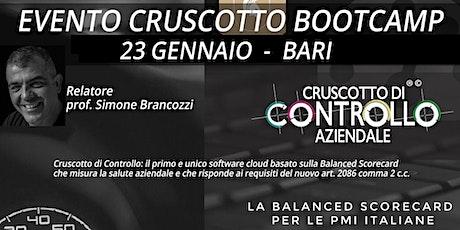 BOOTCAMP CRUSCOTTO DI CONTROLLO, Bari, 23 gennaio biglietti