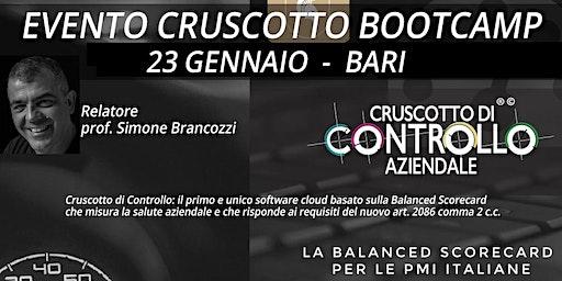 BOOTCAMP CRUSCOTTO DI CONTROLLO, Bari, 23 gennaio